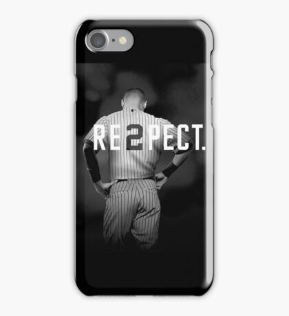 derek jeter respect iPhone Case/Skin