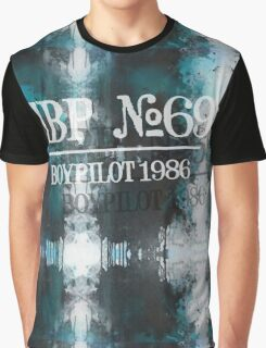 Handsome Boy Pilot 1986 Faded Graphic T-Shirt