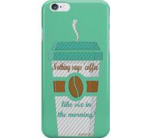 GILMORE GIRLS-coffee addicted iPhone Case/Skin