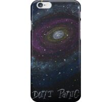 Don't Panic - The Hitchhiker's Guide to the Galaxy iPhone Case/Skin