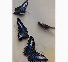 Singapore Butterfly Garden - Blue Unisex T-Shirt