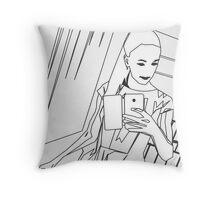 Selfie 1 - Social Media Throw Pillow