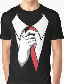 Red Tie Graphic T-Shirt