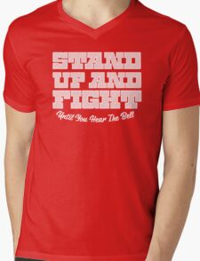 Stand Up and Fight Mens V-Neck T-Shirt