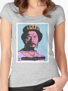 God Save the Queen Women's Fitted Scoop T-Shirt