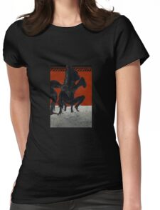 GREEK POTTERY Womens Fitted T-Shirt