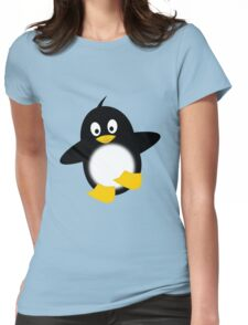 Little Funny Penguin Womens Fitted T-Shirt