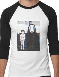 Glichy No Face - Spirited Away  Men's Baseball ¾ T-Shirt