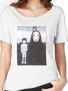 Glichy No Face - Spirited Away  Women's Relaxed Fit T-Shirt