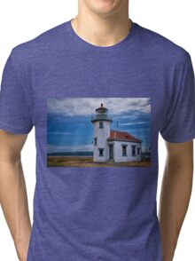 Point Robinson Lighthouse Tri-blend T-Shirt