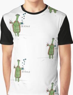 Science Turtle Graphic T-Shirt