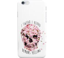 heard demons yelling / Twenty One Pilots iPhone Case/Skin