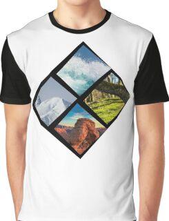 Nature diamond Graphic T-Shirt