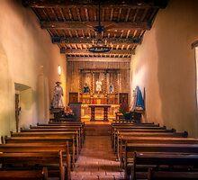 Mission San Juan Capistrano Chapel by joancarroll