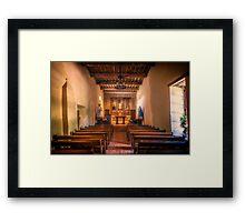 Mission San Juan Capistrano Chapel Framed Print