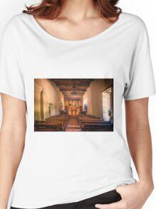 Mission San Juan Capistrano Chapel Women's Relaxed Fit T-Shirt