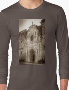 Mission San Jose Facade Long Sleeve T-Shirt