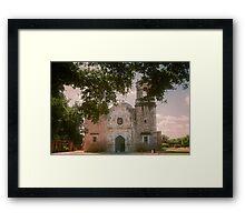 Mission San Jose in San Antonio Framed Print