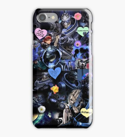 Mass Effect - Garrus Vakarian Collage iPhone Case/Skin
