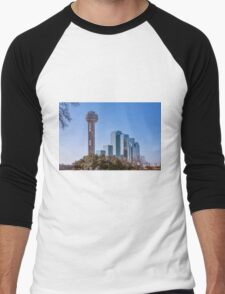 Reunion Tower Dallas II Men's Baseball ¾ T-Shirt