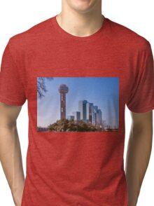Reunion Tower Dallas II Tri-blend T-Shirt