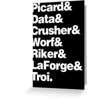 STAR TREK & Greeting Card