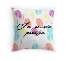gilmore girls-in omnia paratus Throw Pillow