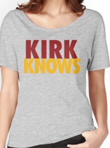 Kirk Knows DC Redskins Cousins Football by AiReal Apparel Women's Relaxed Fit T-Shirt