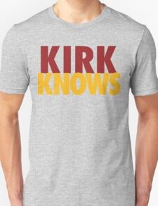 Kirk Knows DC Redskins Cousins Football by AiReal Apparel T-Shirt