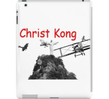 Christ Kong iPad Case/Skin