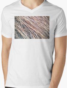 Grass Studies, Winter Wind Mens V-Neck T-Shirt
