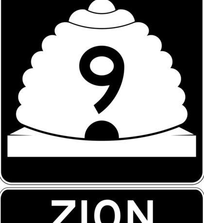 Utah 9 - Zion National Park Sticker