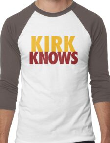 Kirk Knows DC Redskins Cousins Football by AiReal Apparel Men's Baseball ¾ T-Shirt