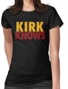 Kirk Knows DC Redskins Cousins Football by AiReal Apparel Womens Fitted T-Shirt