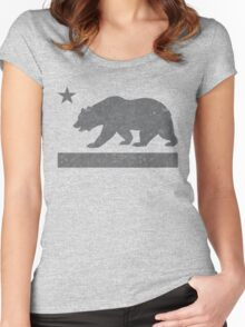 California Bear Women's Fitted Scoop T-Shirt