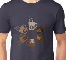 COFFEECUPLOADING Unisex T-Shirt