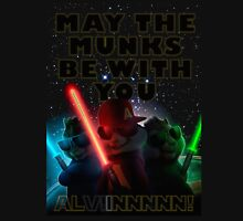 Alvin And The Chipmunks may the munks be with you munks wars 2015 Unisex T-Shirt