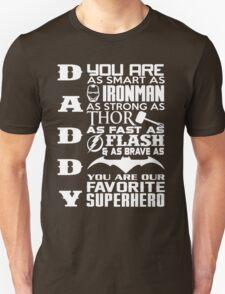 Daddy - Superhero Unisex T-Shirt