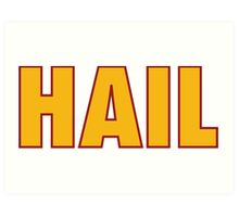 HAIL HTTR Redskins DC by AiReal Apparel Art Print