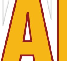 HAIL HTTR Redskins DC by AiReal Apparel Sticker