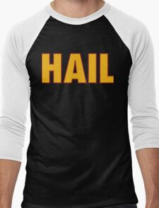HAIL HTTR Redskins DC by AiReal Apparel Men's Baseball ¾ T-Shirt