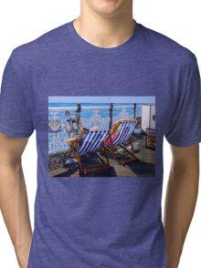 Naps, Tatts and Doughnuts Tri-blend T-Shirt