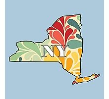 Floral New York Photographic Print