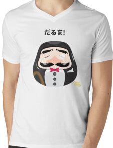 Mr Daruma Mens V-Neck T-Shirt