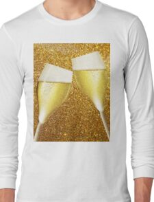 Two glasses of champaign Long Sleeve T-Shirt