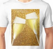 Two glasses of champaign Unisex T-Shirt
