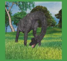 Dinosaur Brachiosaurus Baby Tee