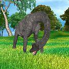 Dinosaur Brachiosaurus by Vac1