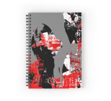 Electro Girl 7 Spiral Notebook