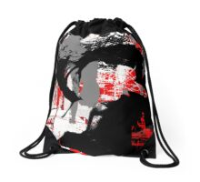Electro Girl 8 Drawstring Bag